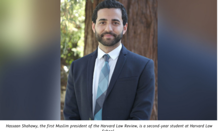 Harvard Law Review elects its first Muslim president