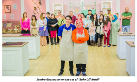 The Muslim winner of Bake Off Brasil promotes her recipes and her faith