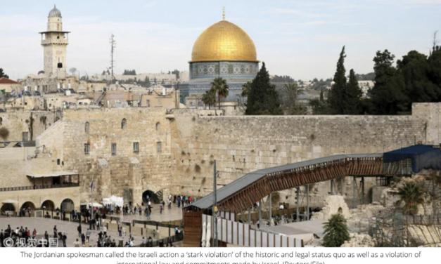 Jordanian officials lambast Israel over Al-Aqsa Mosque break-in