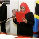 Samia Suluhu Hassan: Tanzania celebrates first Muslim female president