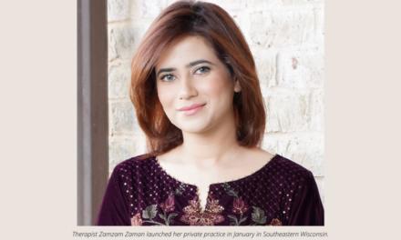 Muslim therapist Zamzam Zaman brings a unique perspective to mental health support