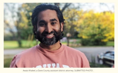 Dane County prosecutor Awais Khaleel tapped to join Wisconsin Ethics Commission