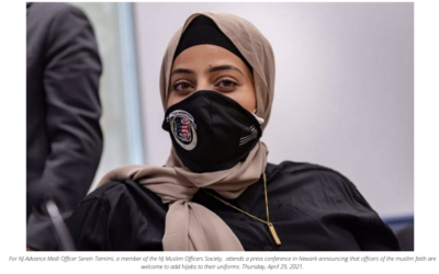 Newark police change rules to allow Muslim officers to wear hijabs on duty