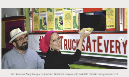 A halal taco truck helps vaccinate Orange County Muslims