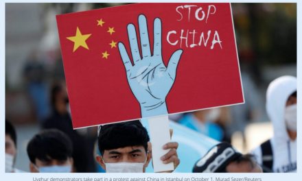 China is committing 'crimes against humanity' with its treatment of Uyghurs in Xinjiang, human rights group says