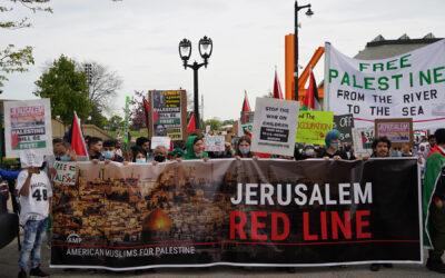 """Free Palestine Rally"" in Milwaukee draws diverse crowd"