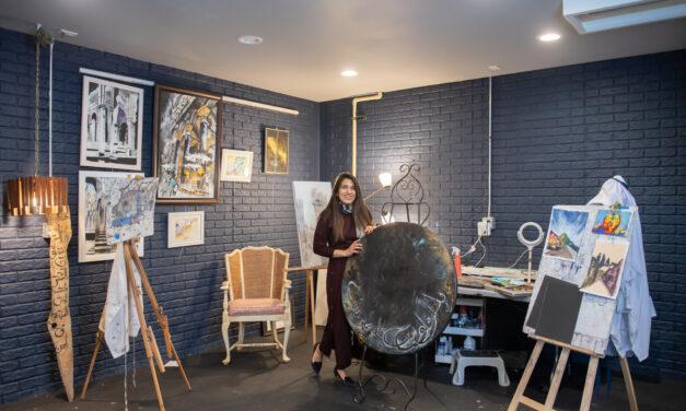 Islamic Artist Rida Fatima designs a new life in Wisconsin