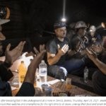 Muslim miners in Bosnia break fast underground