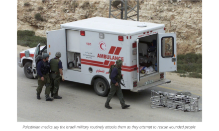Palestinian medics on the front line fighting to save lives
