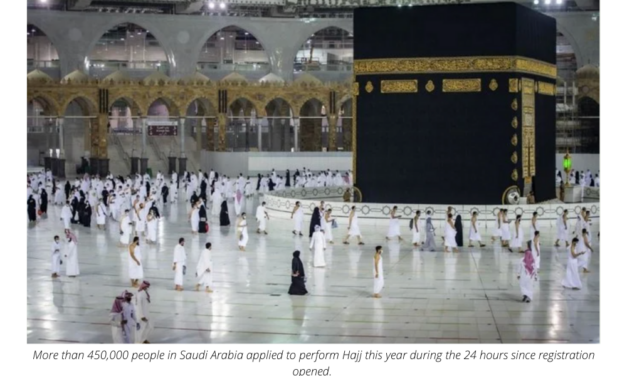 More than 450,000 people apply to perform Hajj during first 24 hours of registration