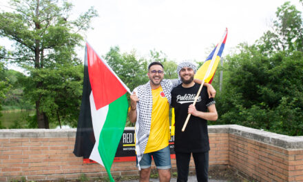 Palestinians and Colombians Unite In first joint cultural event
