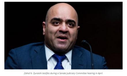Senate confirms Zahid Quraishi as first Muslim American federal judge in US history