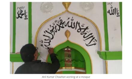 India's Hindu calligrapher whose art adorns more than 200 mosques