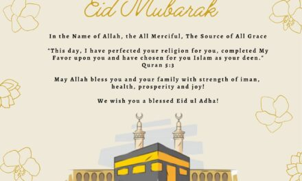 Have a blessed Eid Mubarak