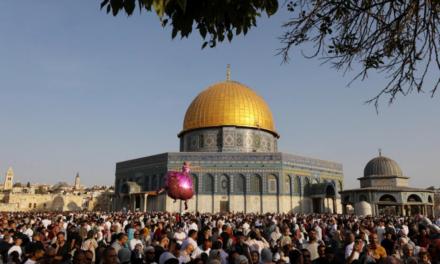 Muslims around the world celebrate Eid al-Adha