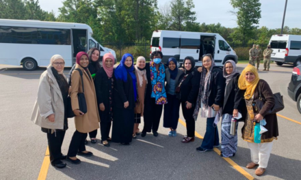 Milwaukee Muslims visit Afghans relocated to Ft. McCoy